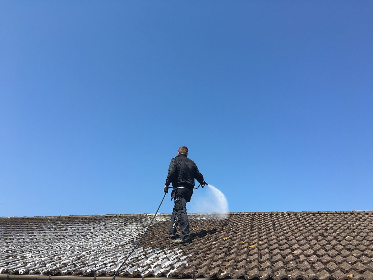 Working with a Pressure Cleaning Professional